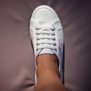 Bleiben – Weiße Sauber Angelene SneakerDie kuXTwPZiO
